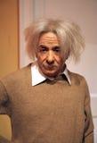 Albert Einstein s女士tussaud 免版税图库摄影
