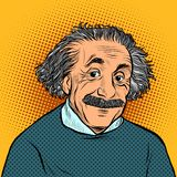 Albert Einstein, scientifique, physicien Science et éducation illustration libre de droits