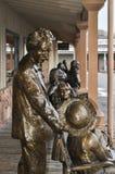 Albert Einstein statue Royalty Free Stock Photos