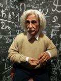 Albert Einstein statywax fotografering för bildbyråer