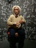 Albert Einstein statywax royaltyfri foto