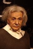 Albert einstein. Wax statue at madame tussauds museum at hong kong royalty free stock images