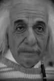 Albert Einstein Waxwork Immagine Stock Libera da Diritti