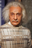 Albert Einstein waxwork exhibit Stock Photos