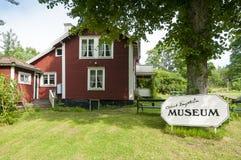 Albert Engstrom-Museum Grisslehamn Lizenzfreie Stockfotos