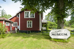 Albert Engstrom museum Grisslehamn Royalty Free Stock Photos