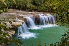 Albert Falls in West-Virginia royalty-vrije stock afbeeldingen