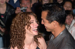 Benjamin Bratt,Julia Roberts Royalty Free Stock Images