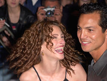 Benjamin Bratt,Julia Roberts Stock Photo