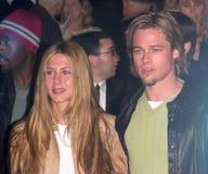 Brad Pitt,Jennifer Aniston Royalty Free Stock Images