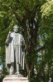 Albert George Ogilvie staty i i stadens centrum Hobart, Australien fotografering för bildbyråer