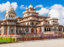 Albert Hall (Central Museum), Jaipur. It is located in Ram Niwas Garden in Jaipur Stock Photography