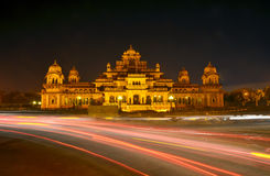 Albert Hall (Central Museum) in Jaipur Royalty Free Stock Photography