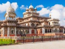 Albert Hall (centralt museum), Jaipur arkivbild