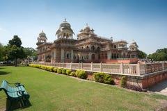 Albert Hall, Jaipur, Indien Arkivbilder
