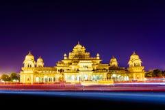 Albert Hall Jaipur at night Royalty Free Stock Image