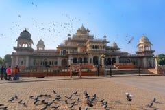 Albert Hall Museum är ett museum i Jaipur i den Rajasthan staten av Indien Arkivbilder