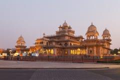 Albert Hall Museum dans la ville de Jaipur dans l'état du Ràjasthàn d'Inde images libres de droits