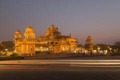 Albert Hall Museum i den Jaipur staden i den Rajasthan staten av Indien Arkivbilder