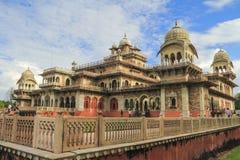 Albert Hall Museum Jaipur Arkivbild
