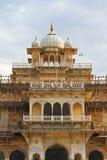 Albert Hall Museum Of Jaipur. The beautiful architecture of Albert or Central Hall Museum,Jaipur,Rajasthan Stock Photo