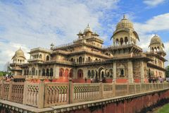 Albert Hall Museum Jaipur Stock Photography
