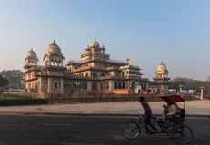 Albert Hall Museum in Jaipur city in Rajasthan state of India. Royalty Free Stock Image