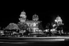 Albert Hall Museum lumineux à Jaipur, Inde photographie stock libre de droits