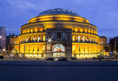 Albert Hall real en Londres Foto de archivo libre de regalías