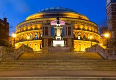 Albert Hall real en Londres Imágenes de archivo libres de regalías