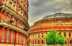 Albert Hall real, um local de encontro das artes em Londres Fotos de Stock