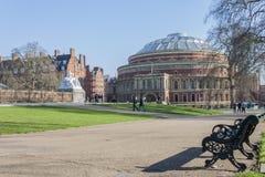 Albert Hall reale fotografia stock libera da diritti