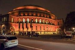 Albert Hall reale Fotografia Stock