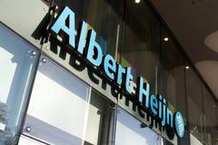 Albert Heijn à aller épicerie photographie stock libre de droits