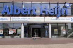 Albert heijn retail store royalty free stock photo