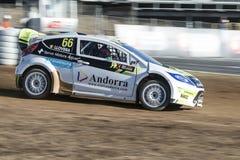 Albert Llovera Barcellona FIA World Rallycross Fotografia Stock Libera da Diritti