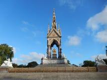 albert london minnesmärke uk Royaltyfria Foton