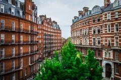 Albert Mansions London Royalty Free Stock Image