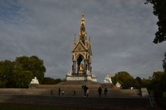 Albert Memorial à Londres, Angleterre Photo stock