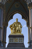 Albert Memorial. Located in Kensington Gardens, London Royalty Free Stock Photo