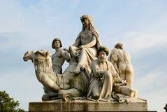 Albert Memorial Lizenzfreies Stockfoto