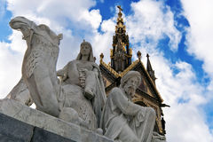 Albert Memorial: Africa statues Royalty Free Stock Image