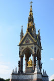 Albert memorial at angle Royalty Free Stock Photography