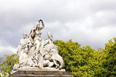 Albert Memorial: Asia Royalty Free Stock Photo