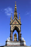 The Albert Memorial from center front view Royalty Free Stock Photo