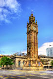 Albert Memorial Clock in Belfast Stock Image