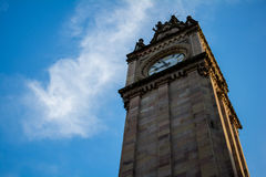 Albert Memorial Clock tower in Belfast Stock Photo