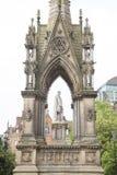 Albert Memorial dal nobile, Albert Square, Manchester Fotografia Stock Libera da Diritti