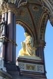 Albert Memorial (Dichte Omhooggaande kant) Royalty-vrije Stock Fotografie