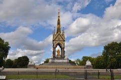 Albert Memorial en Londres Imagen de archivo libre de regalías